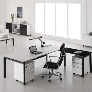 实木办公桌-05